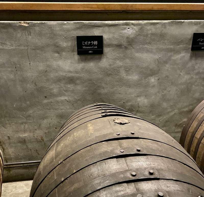 480公升日本水梄木橡木桶。(圖/作者提供)