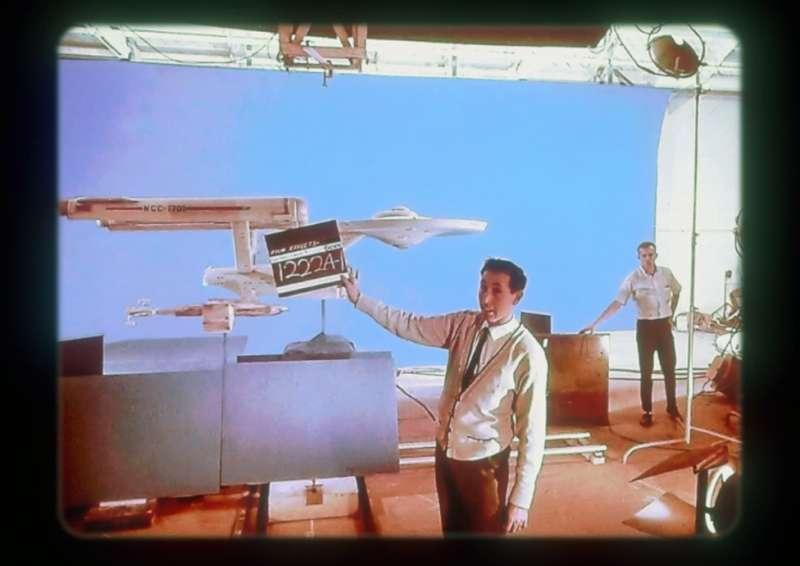 巴里為《星際迷航》做電影特效。(圖/BBC News)