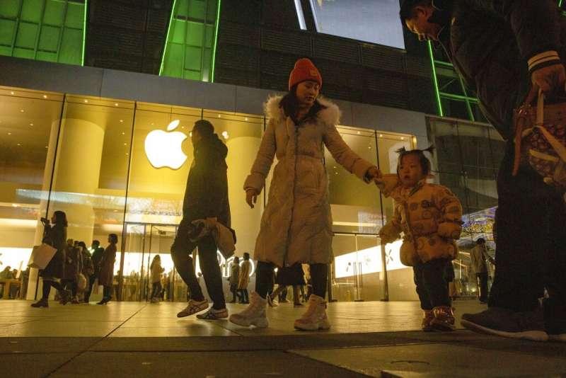 蘋果在中國。(美聯社)