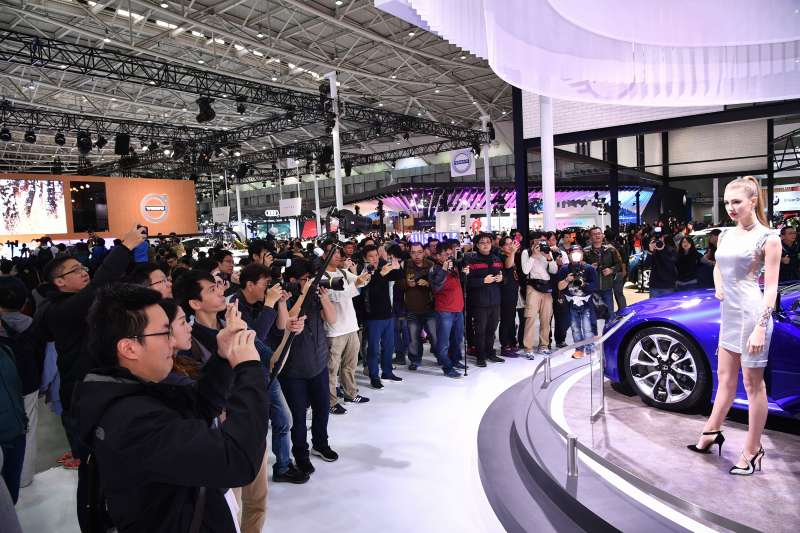 圖為上屆 2018 年新車大展資料照片 (圖/台北市汽車代理商業同業公會)