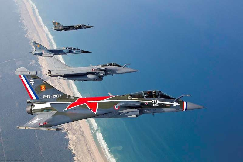 象徵法俄合作的「諾曼第-涅門」番號,如今還保存於法國空軍的編制內,並由裝備飆(作者許劍虹提供)