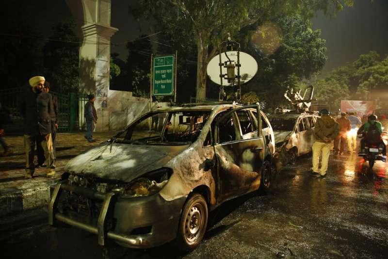 印度《公民法》修正案有歧視穆斯林之嫌,在印度全國引發大規模示威抗議。(AP)