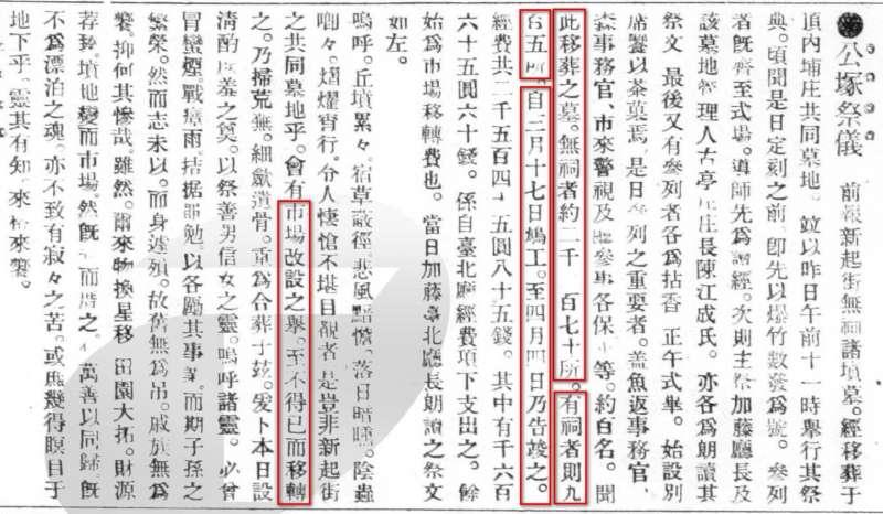 圖9:出自漢文臺灣日日新報,1908年5月22日第2版