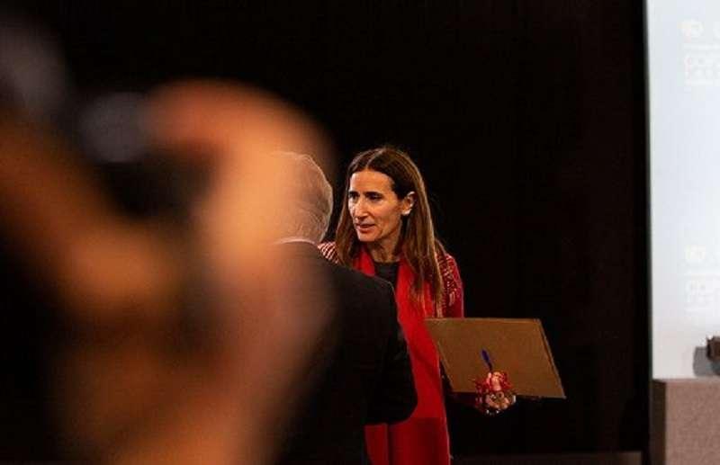 智利環境部長 / 馬德里氣候大會主席卡洛琳娜·施密特(Carolina Schmidt)。圖片來源:Flickr / UNclimatechange