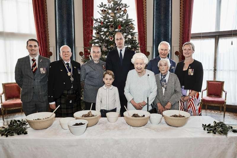 英國王室準備歡慶聖誕。(AP)