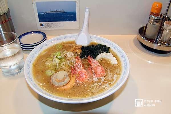 曾經存在於青函連絡船上的夢幻拉麵,雖然曾在函館站旁販售,但2008年因老闆年紀大而閉店。圖/想想論壇