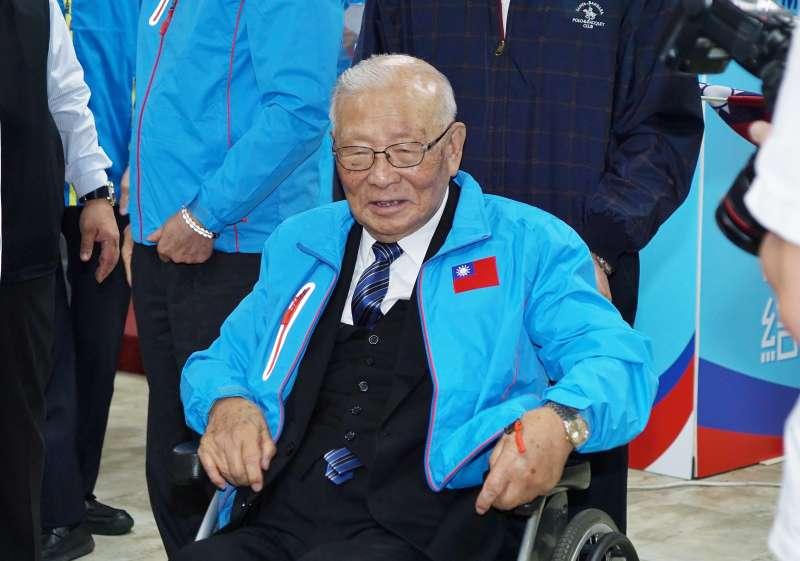 20191225-前國大代表許歷農25日出席韓國瑜競選總統全國顧問團成立大會。(盧逸峰攝)
