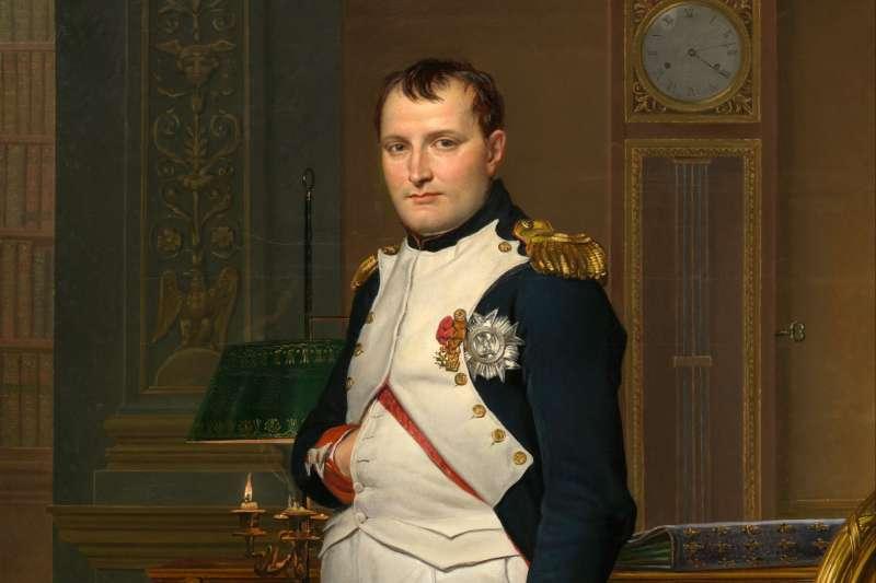 拿破崙稱帝獲99%支持率。(圖/維基百科)