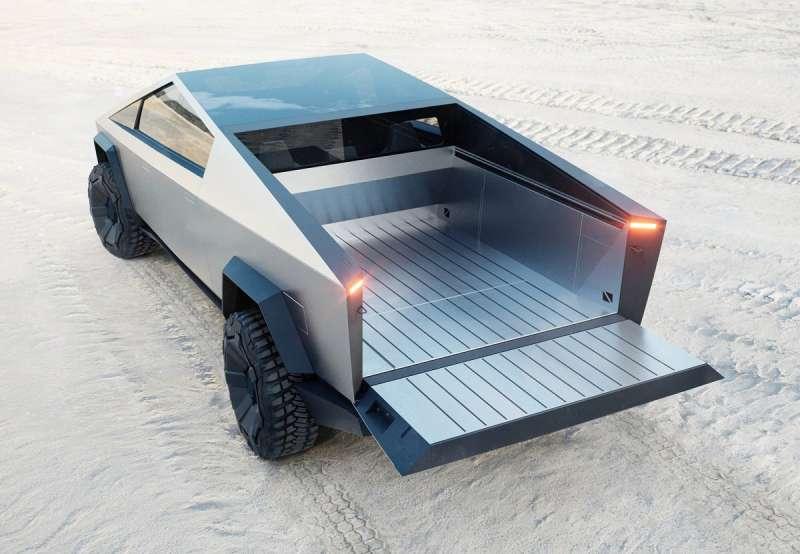 貨斗長度達1981mm,沙灘車也可以完整裝載。(圖/車訊網)