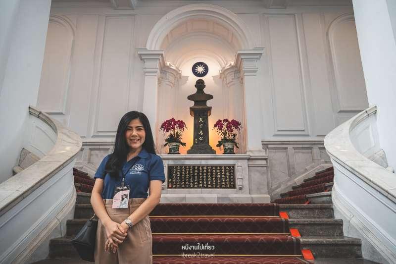20191129-來自泰國的Kanisorn Pringthongfoo認為,舉辦「來去總統府住一晚」是一個明智之舉。(取自中華文化總會網站)