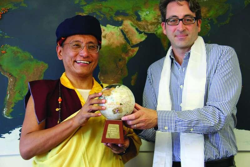 第十二世竹欽活佛(Gyalwang Drukpa)晉美白瑪旺欽。(Wikipedia CC BY 3.0)