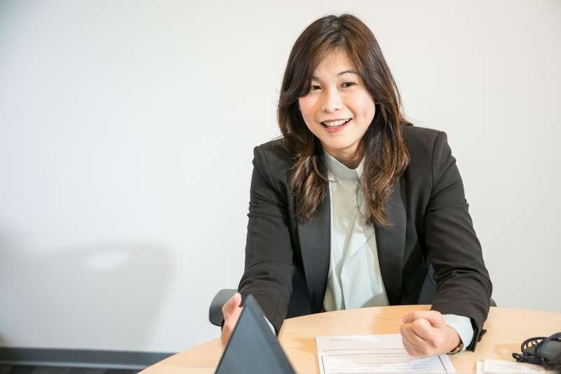 圖說:朱庭萱將協助吉立亞在業務行銷端的學習發展、商業分析、業務營運效能、協助內部運作更緊密、更有效率。(圖/風傳媒)