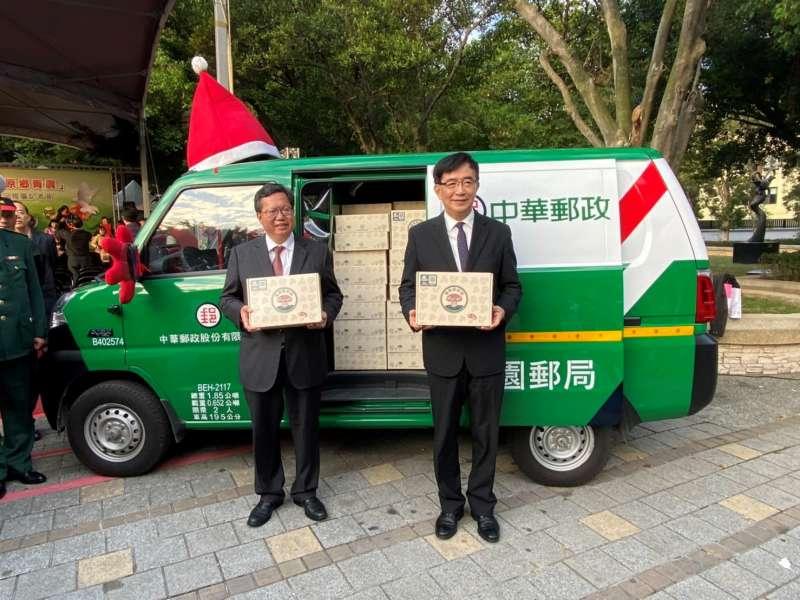中華郵政公司運用電子商務等資源,推動「風信子行動」。(圖/中華郵政提供)