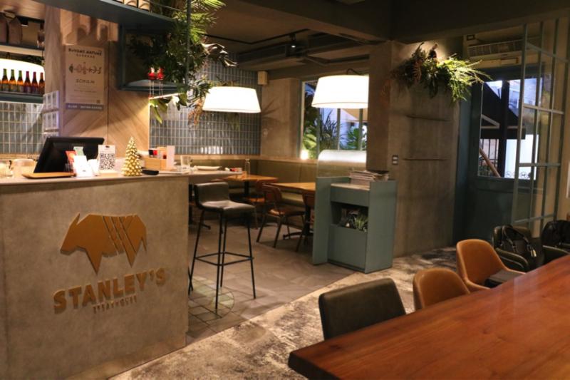 圖說:店鋪設計也是史坦利美式餐廳的一大亮點,由Jill操刀,打造舒適自在的用餐氛圍(攝影 / 風傳媒)