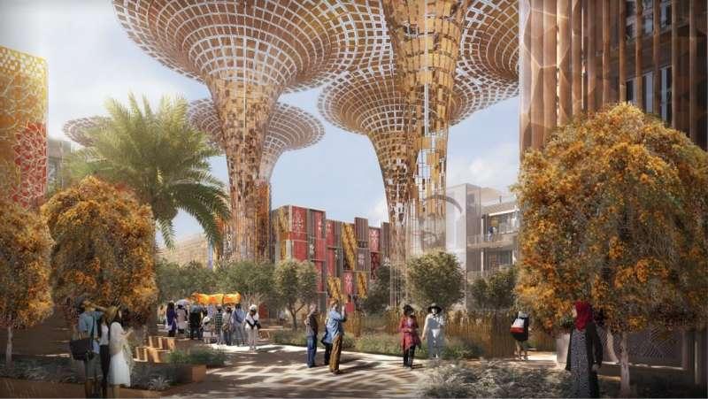 杜拜世界博覽會示意圖(圖/Expo 2020 facebook)