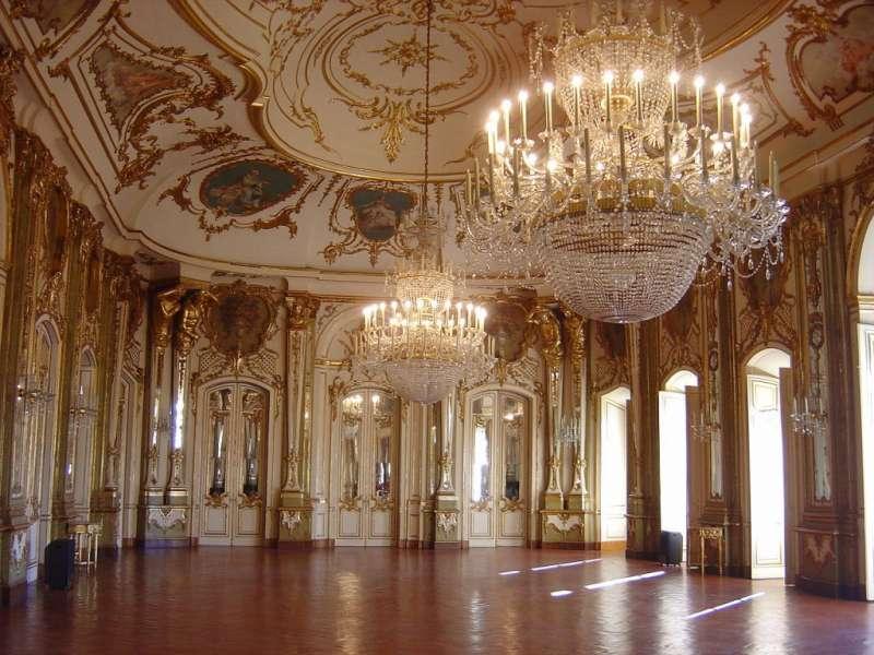 08 Palace of Queluz 克盧茲宮,葡萄牙18世紀宮殿。(圖/瘋設計)
