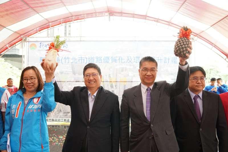 內政部長徐國勇指示營建署支援600萬經費,進行經國大橋改善工程可行性評估。(圖/新竹縣政府提供)