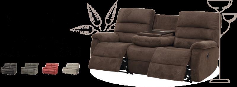 電動沙發具可自由調整角度的方便性,可能享受如同身處於頭等艙中的舒適性。(圖/宜得利)