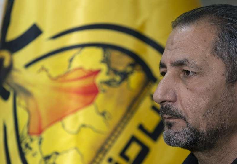 伊拉克什葉派武裝組織「真主黨旅」發言人莫西耶(Mohammed Mohieh),宣稱將報復美軍空襲。(AP)