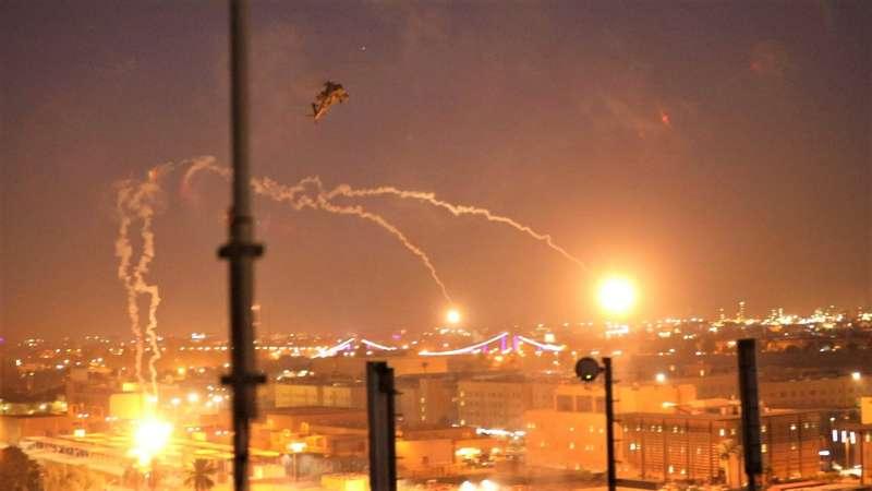 2019年12月29日,美軍為了報復日前伊拉克軍事基地遭攻擊,空襲伊朗扶持的什葉派武裝組織「真主黨旅」。(AP)