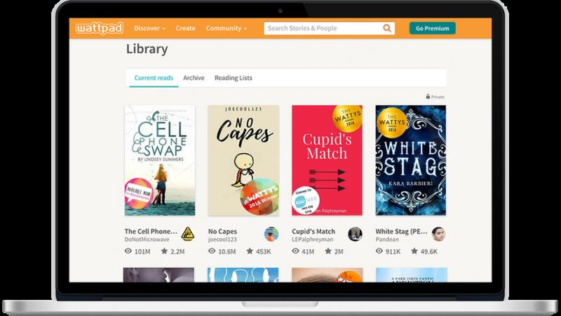 Wattpad現在有8000多萬用戶。(圖/BBC News)