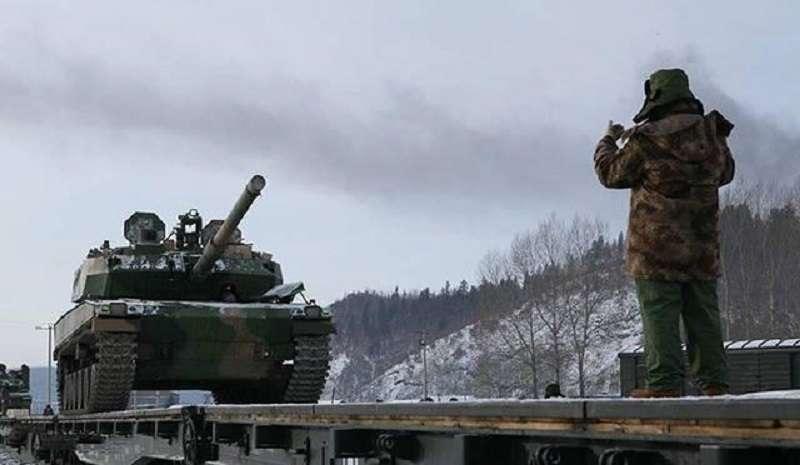 黑龍江邊區的解放軍。