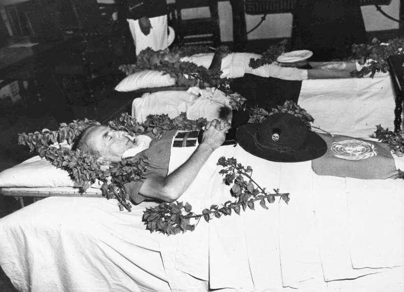 瑞典外交官伯納多特1948年在耶路撒冷罹難。(AP)