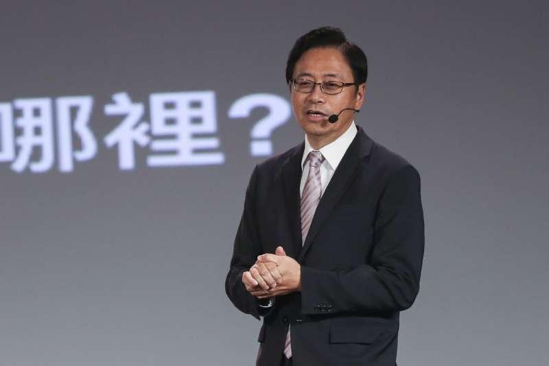 20200104-國民黨副總統候選人張善政4日舉辦國政領航台灣 起飛-政策發表會。(簡必丞攝)