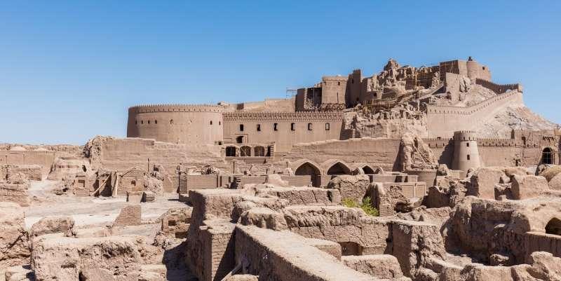 巴姆古城(The Citadel of Bam)。(Diego Delso@Wikipedia / CC BY-SA 4.0)