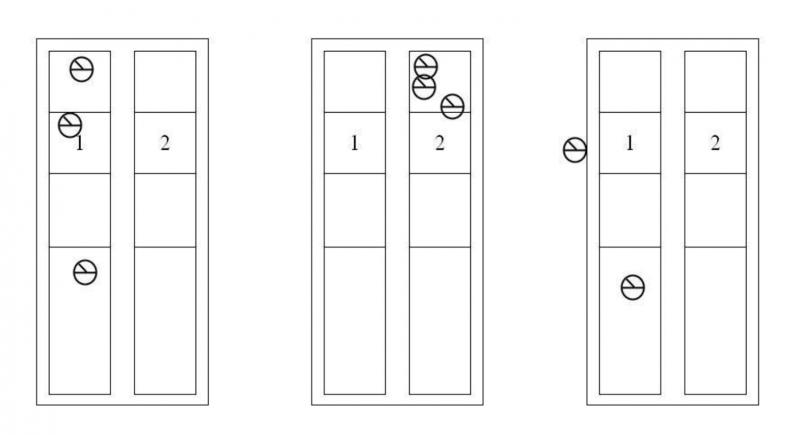 只要圈選章觸碰到格線,即使是重複蓋章也算有效票。(圖/行政院公報)