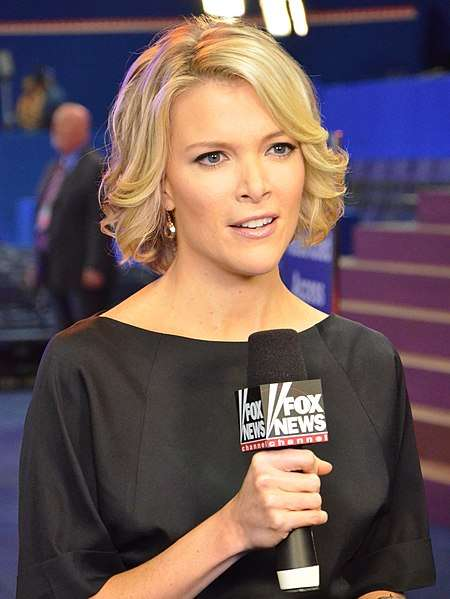 福斯新聞女主播梅根.凱莉(Megyn Kelly)也是多名遭艾爾斯性騷擾的受害者之一。(圖/Wikipedia)