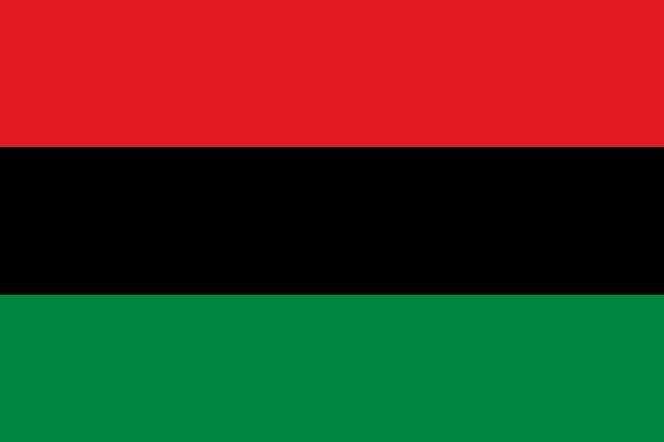 20200110-代表泛非洲主義的紅、黑、綠三色。(資料照,取自維基百科)