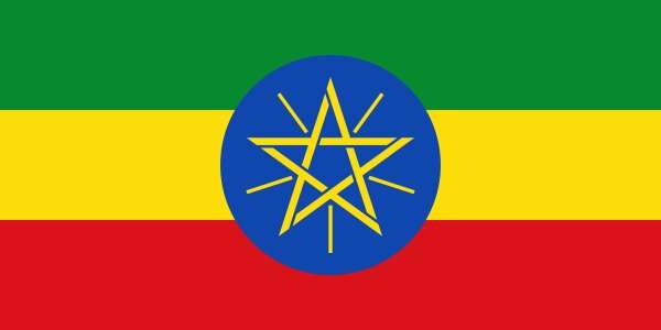 20200110-衣索比亞國旗。(資料照,取自維基百科)
