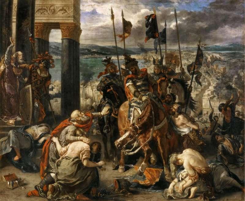 20200110-十字軍東征。(資料照,取自維基百科)