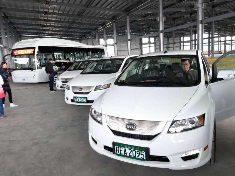 馬稠後電動車產研基地舉辦尾牙,宣布數款新車型計畫。(圖/徐炳文攝)
