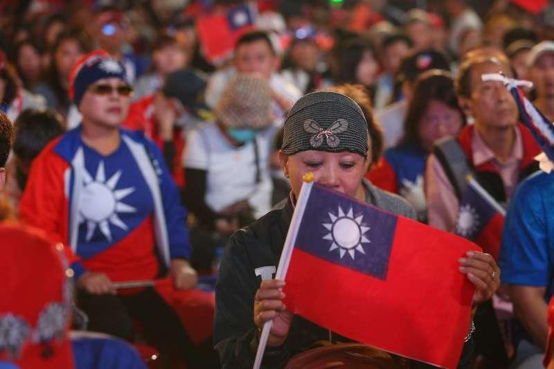 20200111-韓國瑜競選總部現場。(顏麟宇攝)