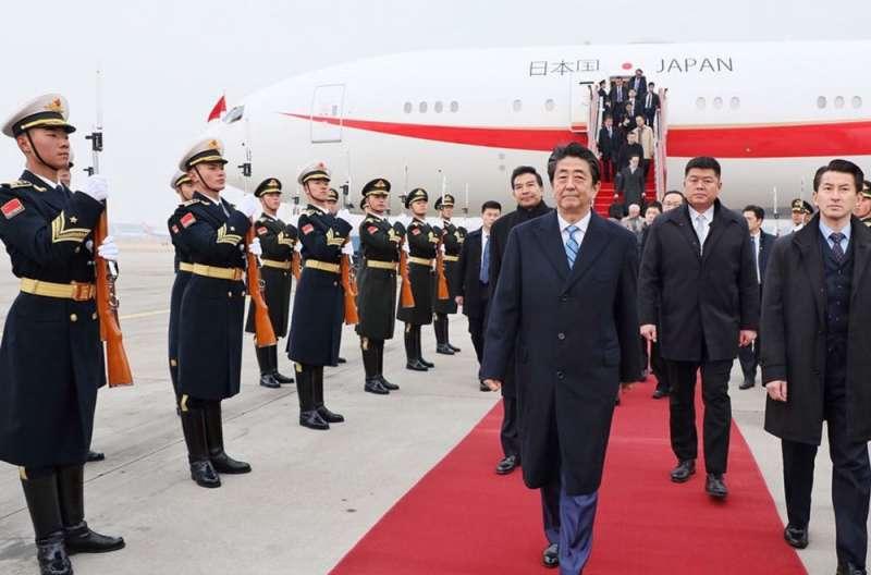 由於奧運將在東京舉行,安倍晉三將2020訂為外交年。(翻攝自安倍晉三Twitter)