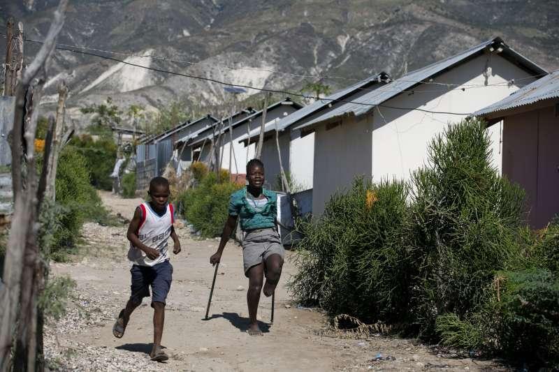 2010海地因聯合國維和部隊入駐引爆霍亂。(AP)