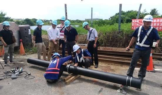(圖/台灣自來水公司臉書)