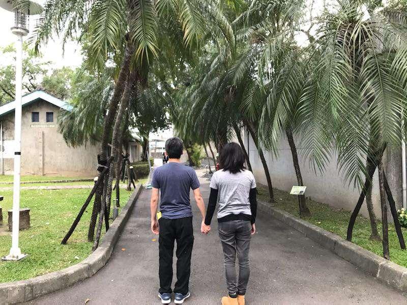 2020年1月11日,香港觀選旅行團走訪景美人權紀念園區。(鍾巧庭攝)