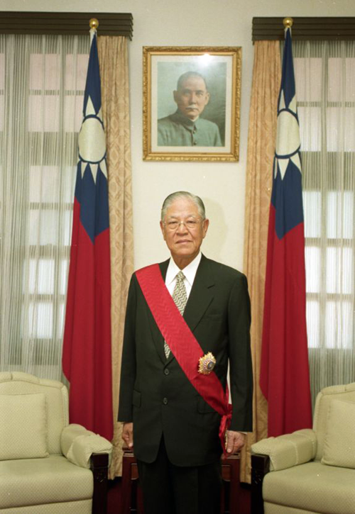 20200117-前總統李登輝擔任總統時期。(資料照,取自維基百科)