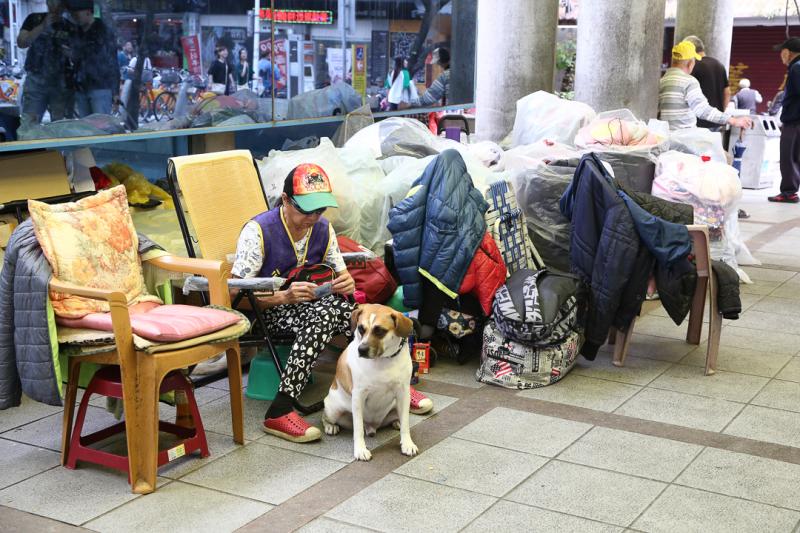 萬華遊民較其他地區多。(圖/想回家的貓@Flicker)