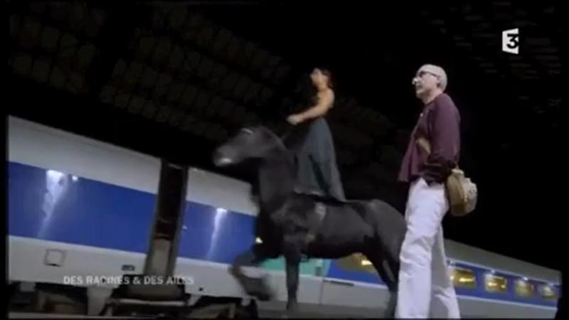 20200121-法國馬戲表演團體Transhumance發展出以馬術為主的獨特表演。(取自Transhumance viemo頻道)