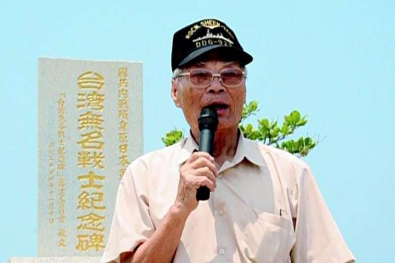 1958年入獄的許昭榮,是中華民國海軍史上第一個被以台獨罪名羈押的政治犯。.(許劍虹提供)