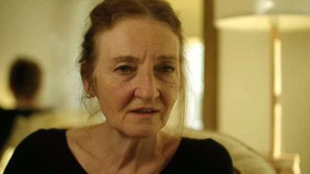 英國女權組織Object的希瑟表示,這跟賣淫區別不大。(圖/BBC News)