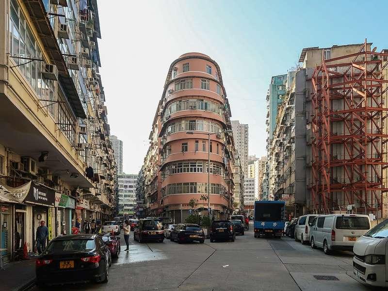 啟明街、榮光街(取自維基百科,由 Wpcpey - 自己的作品, CC BY-SA 4.0)