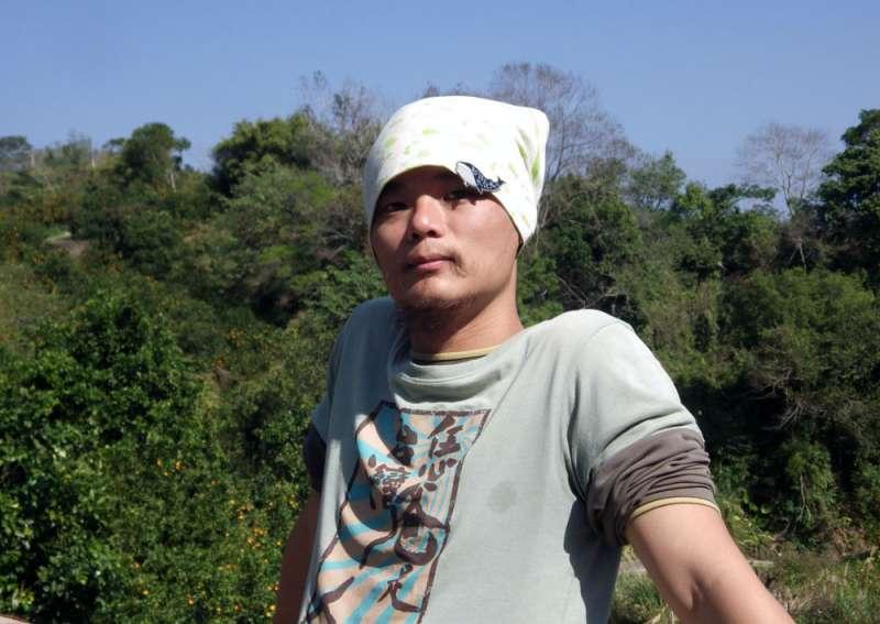 賴咏華發願不再說台語的4個月後,連睡覺時夢裡說的都是台語。(李佳穎攝)