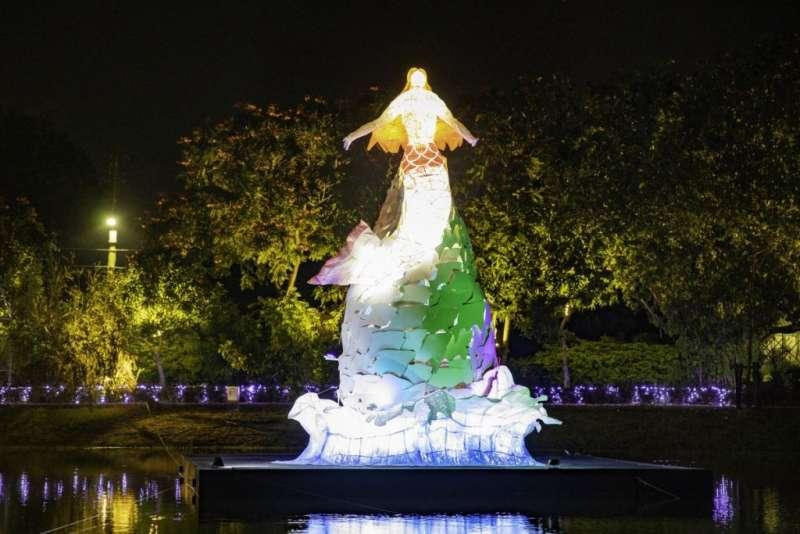 07日本藝術家森岡厚次帶領京都造型藝術大學團隊帶來2件大型優美的藝術作品〈人魚的旋律〉、〈深海飛行〉,值得期待。(圖/城市美學新態度)