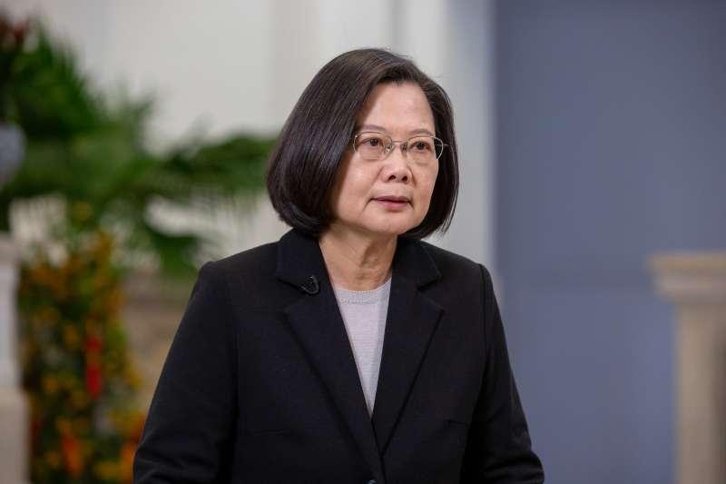 2020年1月23日,蔡英文總統發表農曆春節談話(總統府)