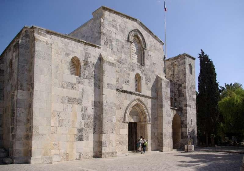位於東耶路撒冷的聖亞納教堂,從1856年開始即屬於法國領地。(維基百科公有領域)